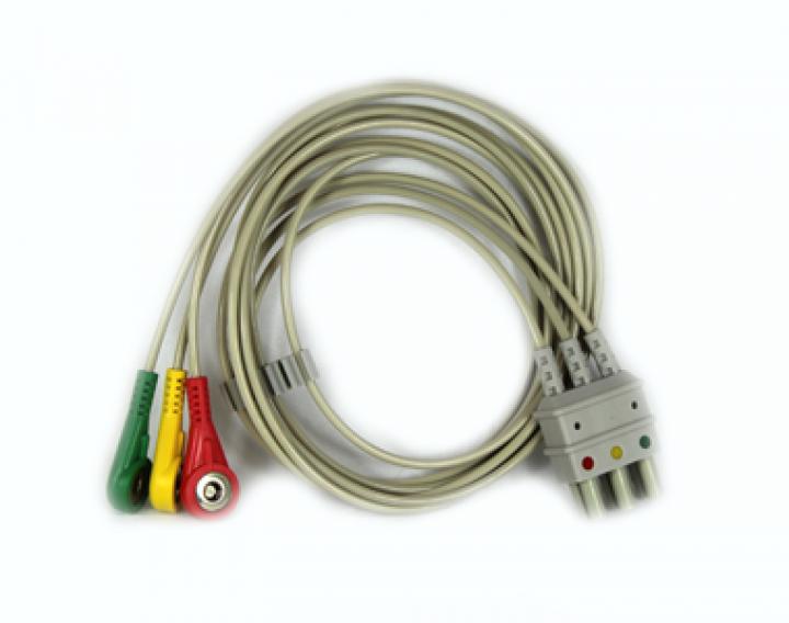 Compact 5 EKG Ableitungskabel 3-adrig für Monitor