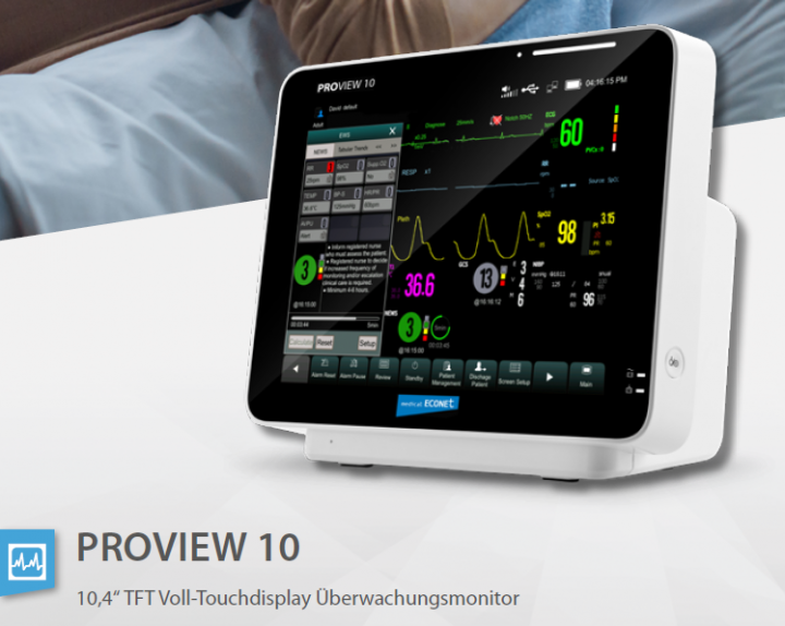 PROview 10 Patientenmonitor 10,4
