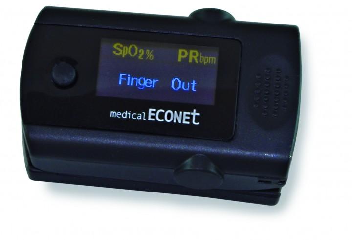 ME10 (Finger-Pulsoximeter mit Alarmfunktion)
