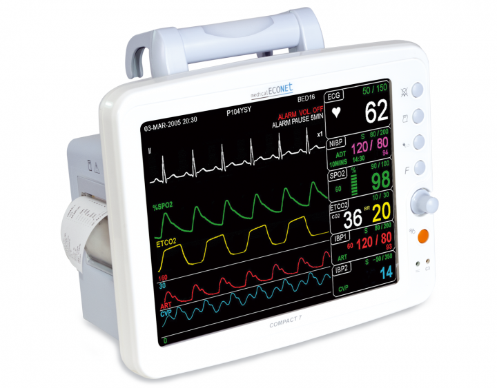 Compact 7 Patientenmonitor (Multi-Parameter Monitor mit 10,4