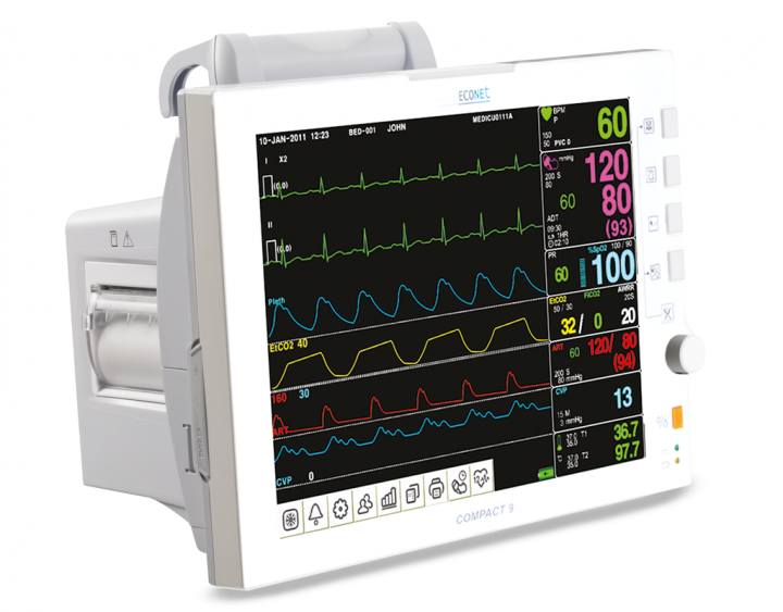 Compact 9 Patientenmonitor (Multi-Parameter Monitor mit 12,1