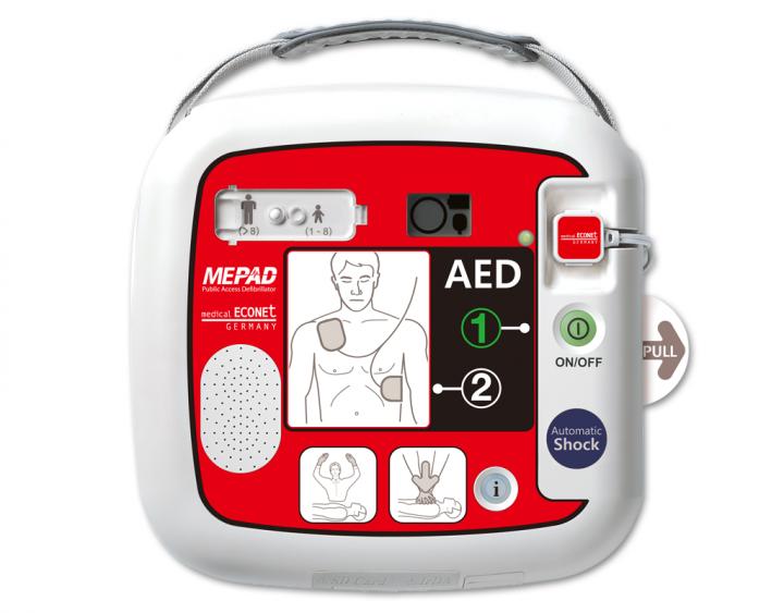 ME PAD AED Automatik Defibrillator