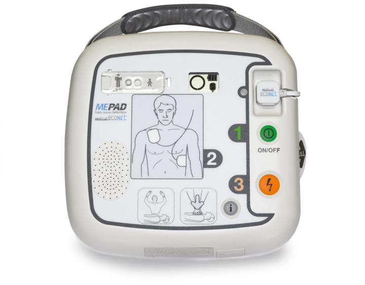 ME PAD AED Defibrillator