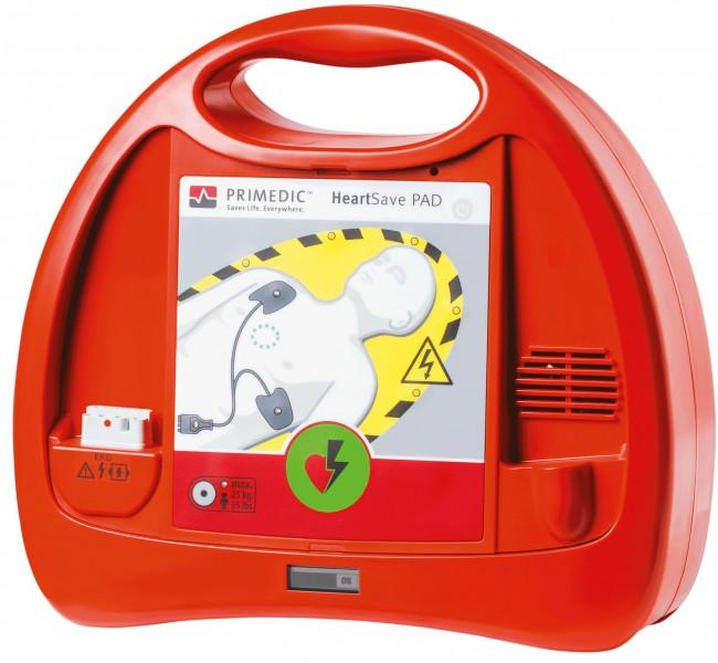 HeartSave PAD AED Defibrillator