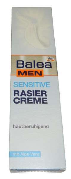 Rasiercreme Balea Men Sensitive, 100 ml