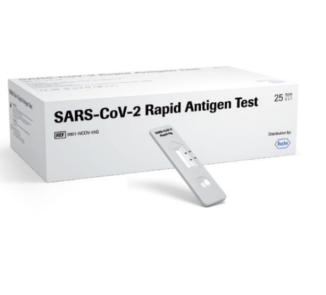 Roche SARS-CoV-2 Antigen Schnelltest 25 Tests, ab 169,00 € pro Packung
